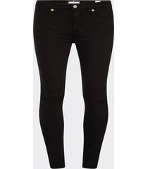 jeans como heritage skinny fit negro tommy hilfiger