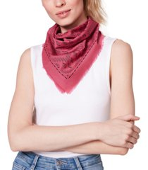 steve madden cotton printed bandana scarf