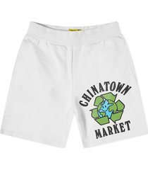 chinatown market pantaloncini uomo recycle global sweatshorts 1950204