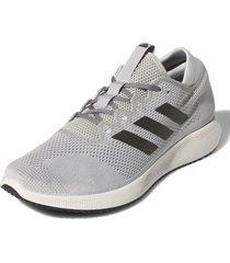 tenis gris adidas edge flex grey two / trace grey metallic / grey three g28450