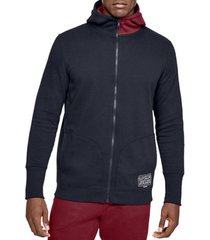 sweater under armour baseline fleece fz hoodie 1343006-002