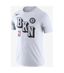 camiseta nike brooklyn nets masculina