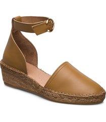 wayfarer sandal sandalette med klack espadrilles brun royal republiq