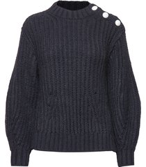 marlon awa alpaca sweater stickad tröja blå zadig & voltaire