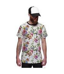 camiseta di nuevo floral masculina