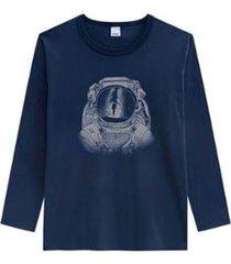camiseta tradicional em meia malha wee! wee masculina - masculino