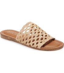 women's bella vita eva slide sandal, size 10 m - ivory