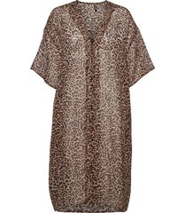 pcnertrud kaftan box sww beach wear svart pieces
