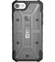 estuche carcasa urban armor gear uag modelo ash para iphone 7 - gris humo