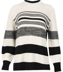 lofty stripe oversized sweater
