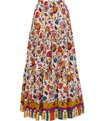 big skirt in mix floral print