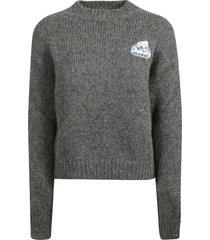 alanui ribbed sweater