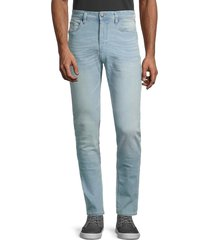 buffalo david bitton men's max-x skinny stretch-fit jeans - super bleach - size 30 32