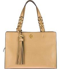 borsa donna a spalla shopping in pelle brooke satchel