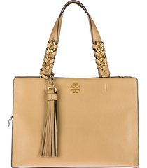 borsa donna a spalla shopping in pelle brooke satchel