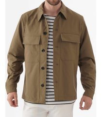 norse projects kyle travel jacket - khaki n40-0481