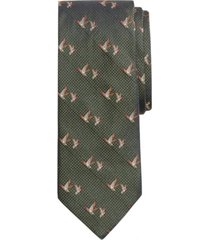 corbata flying ducks verde brooks brothers