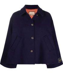 military cape jacket