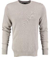 tommy hilfiger dove grey trui linen cotton