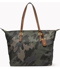 tommy hilfiger women's camouflage tote bag camo -