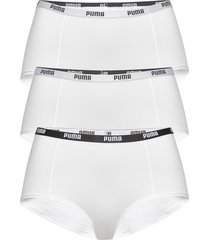 puma mini short 3p pack hipstertrosa underkläder vit puma
