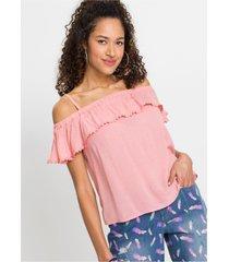blousetop met kantrandje