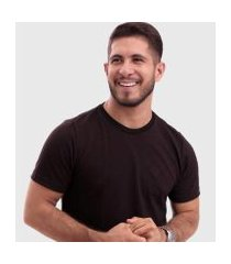 camiseta biecco smith piquet slim masculina