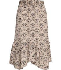 sensational skirt knälång kjol beige odd molly