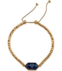 unwritten genuine stone adjustable bolo bracelet