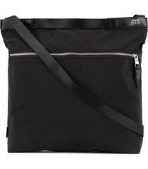 as2ov square shoulder bag - black