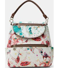 medium backpack handle - white - u
