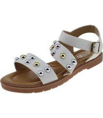 sandalia blanco bbo