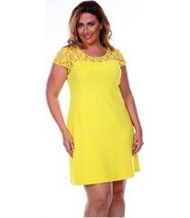 white mark women's plus size pelagia dress