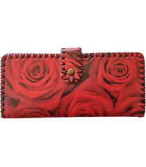billetera roja spiga 31 rosas