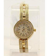 reloj  dorado almacén de paris