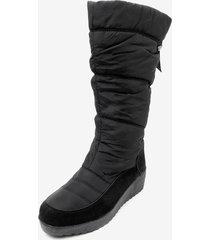 bota impermeable drop black chancleta