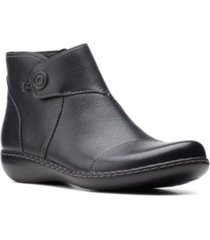 clarks collection women's ashland holly bootie women's shoes