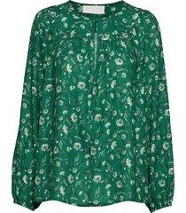 alina blouse lange mouwen groen fall winter spring summer