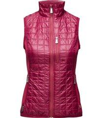 w bona hybrid vest pertex q vests padded vests roze j. lindeberg golf