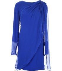 lanvin georgette dress
