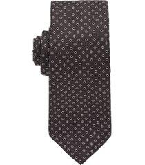 boss men's t-tie jacquard-patterned travel tie