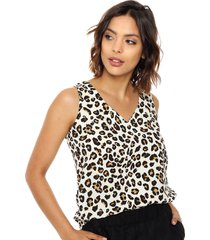 blusa animal print yagmour dash