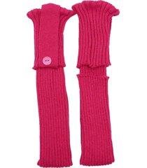 polaina ayron fitness max lã com botão pink