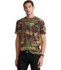 polo ralph lauren men's classic-fit camo pocket t-shirt