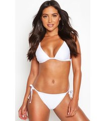 mix & match itsy bitsy bikini top, white