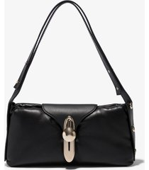 proenza schouler padded latch shoulder bag /black one size