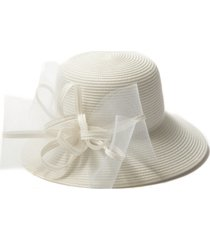 august hats braid bow cloche