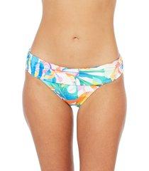 women's la blanca wild tropic hipster bikini bottoms