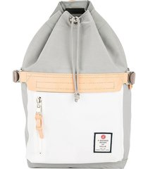 as2ov drawstring backpack - grey