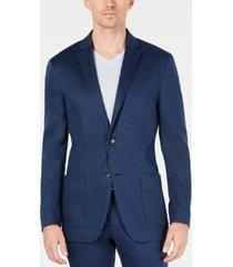 alfani men's classic-fit stretch solid sport coat, created for macy's